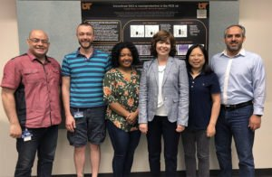 Photo of Monica Jablonski and team members in University of Tennessee – Memphis labs