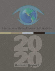 2020 IRRF Annual Report Cover
